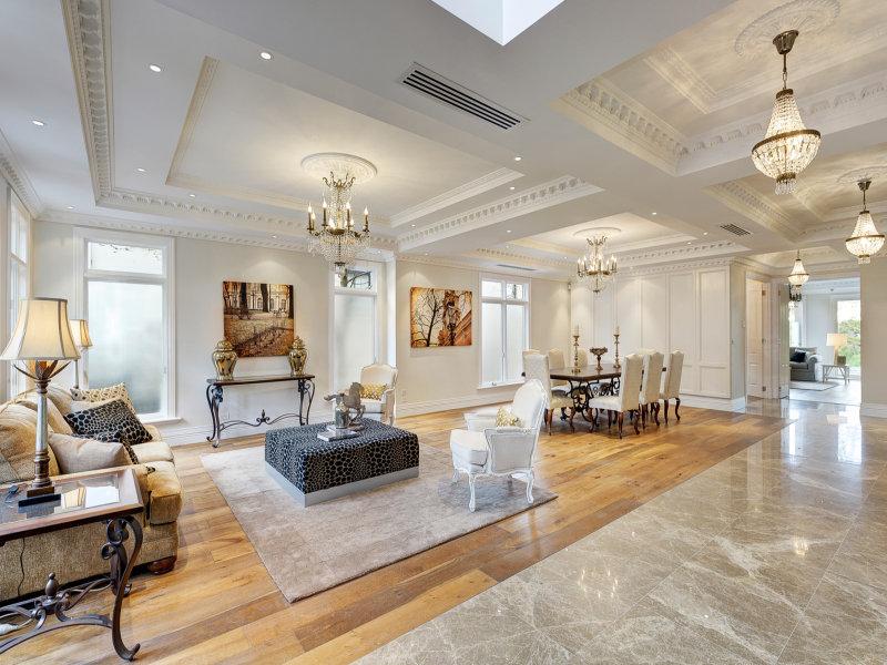 Melbourne Home Details Home Styling formal living room