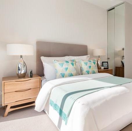bedroom apartment light