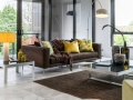 Melbourne Home Details Home styling vignette living room modern penthouse cropped